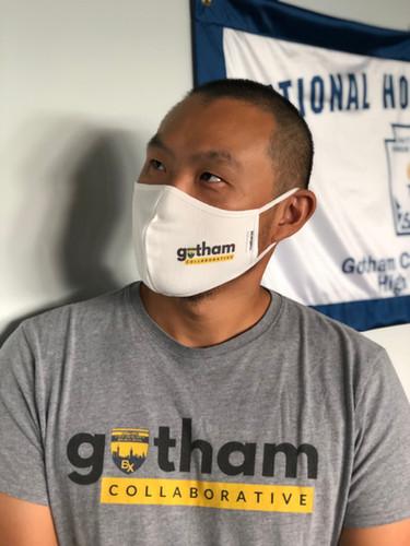 Principal Liu promoting GCHS & safety!