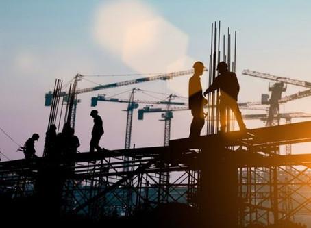 Alta no PIB: 'Locomotiva da construção começou a andar', diz representante do setor