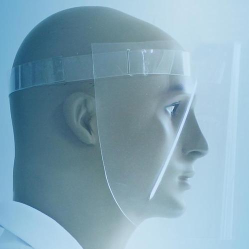 Escudo Protetor Facial De Polietileno - Caixa Com 10 Pçs