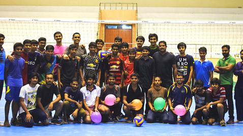 Inaugural Volleyball Match (Indoor Stadium)