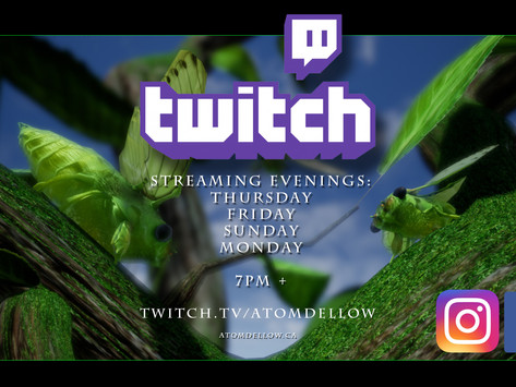 Twitch Stream: 3D Asset creation for Entopia
