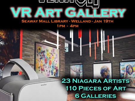 VENA VR: Welland Library Show