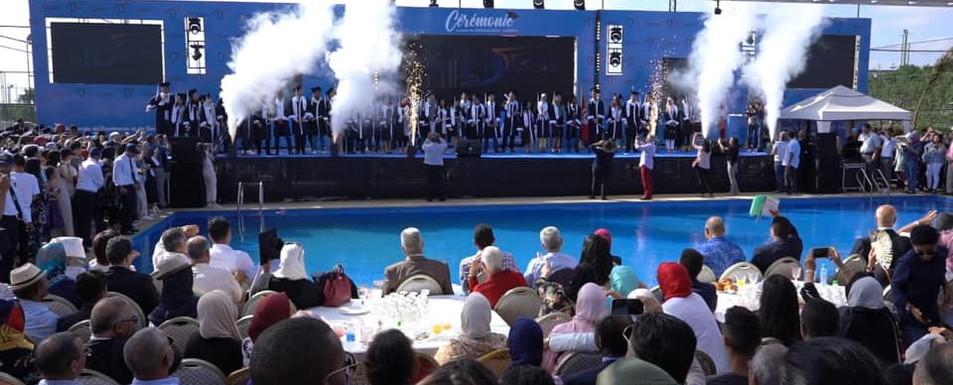 Evenement de remise de diplomes pour l'ENCG en 2019