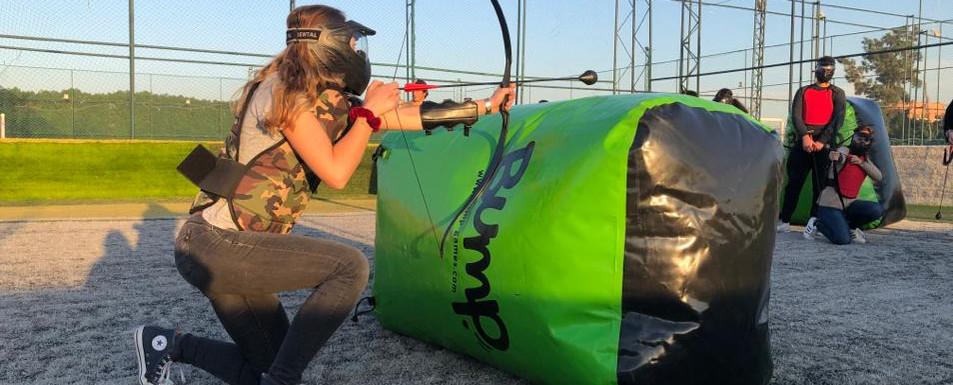 Arc Attack, activité fun entre le paintball et le tir à l'arc