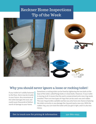 Loose Toilets in the Home