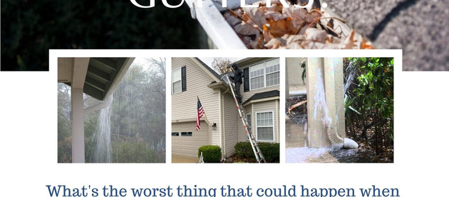 Tip of the Month: Clogged Gutters Cause Problems