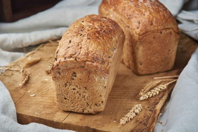 Хліб житній з льоном