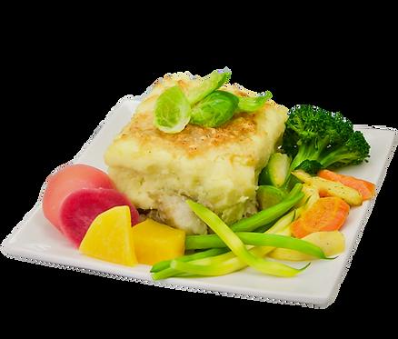GRATIN SCANDINAVE et légumes