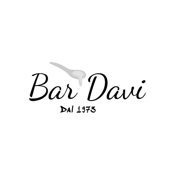 Bar Davi Logo Aprilia Ristorante Black o