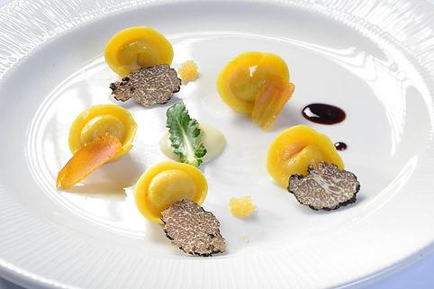 tortellini ripieni del ristorante perbacco di aprilia