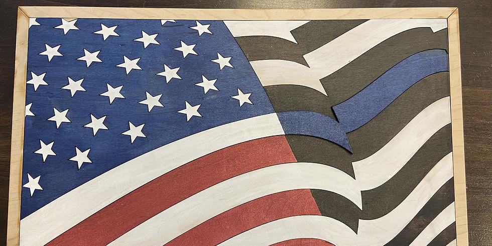 Flag Puzzle/Art Paint