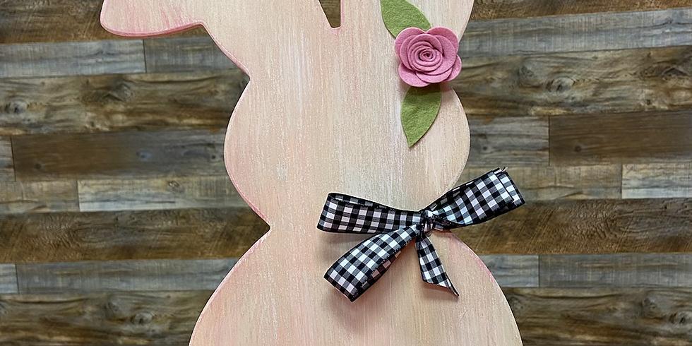 Spring Bunny Decor