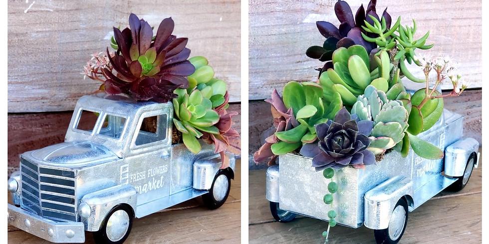 Vintage Succulent Truck