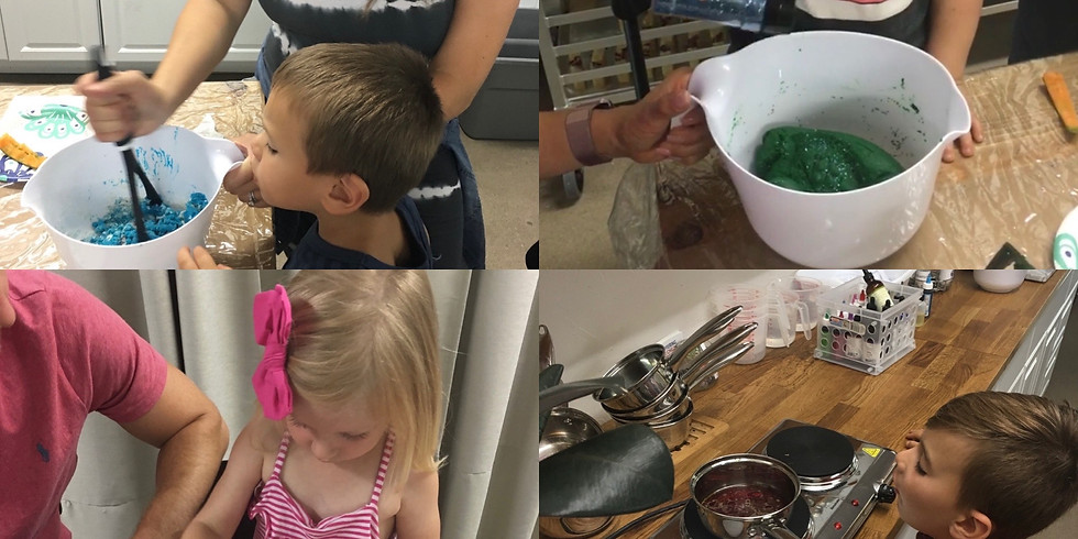 Parent/Child Sensory Dough Make & Take