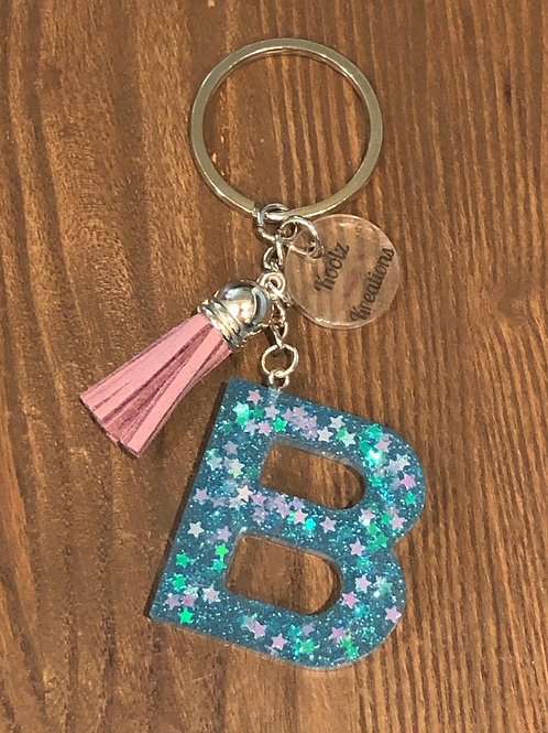 B initial key chain  ONLY 1 available