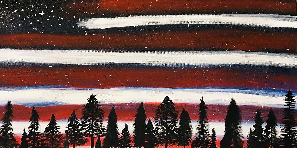 Patriotic Paint Night