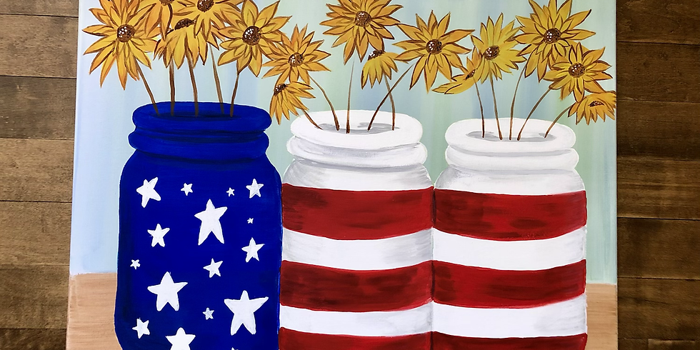 Red, White and Rosé Paint and Sip