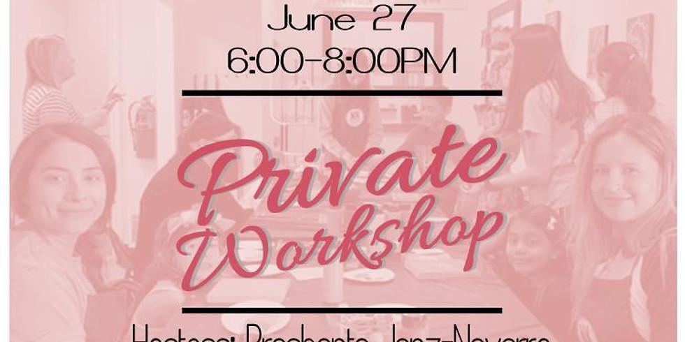 Private Workshop for Prashanta Janz-Navarro