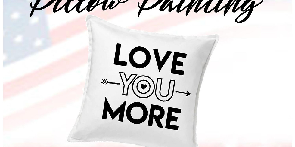 Pillow Painting $40