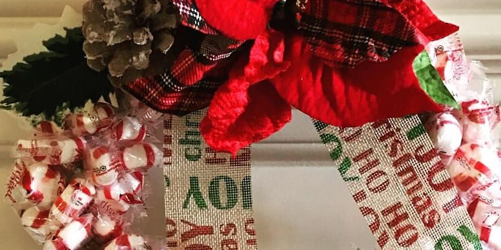 Candy Wreath $30