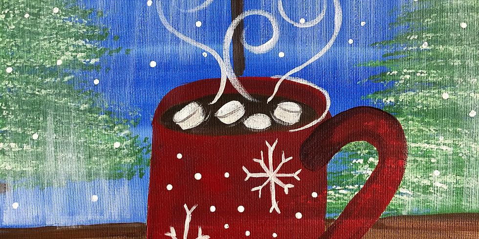 Walk In/ Winter Cocoa Canvas Workshop