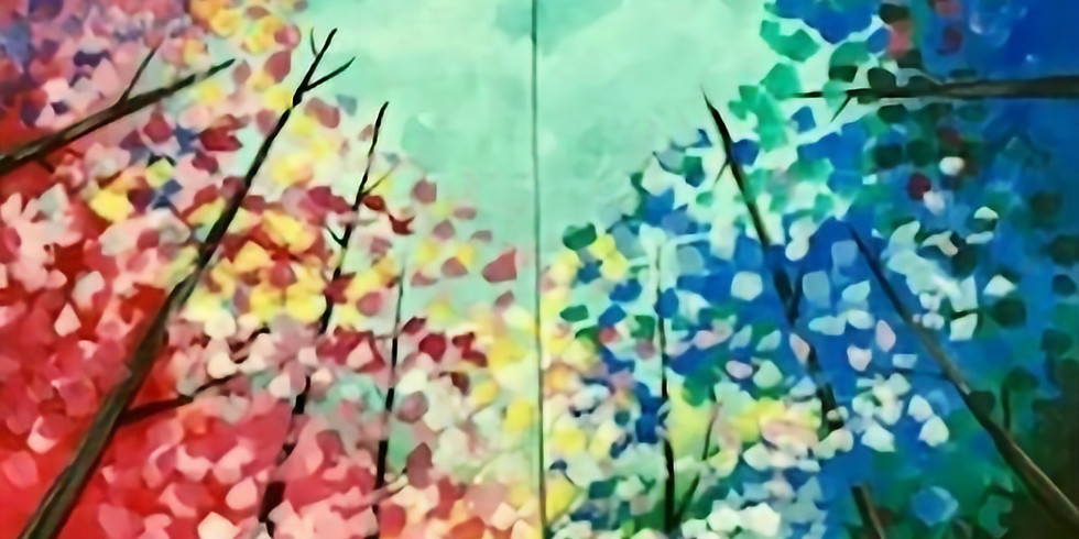Couples Canvas Paint