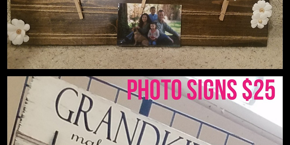 Picture Holder Sign