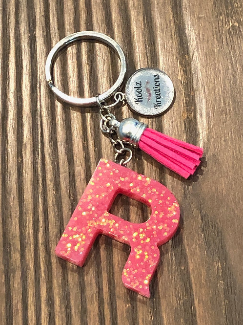 R initial key chain  ONLY 1 available