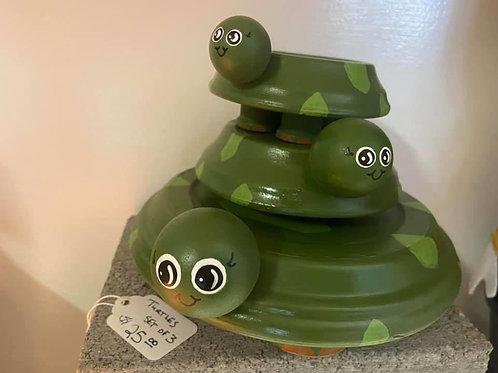 Turtle set of 3