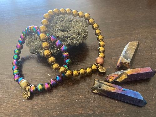 Hematite bracelets ONLY 2 available