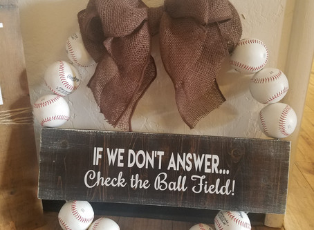 take me out to the ball park!