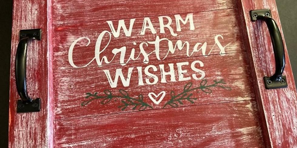 Christmas Farmhouse Trays