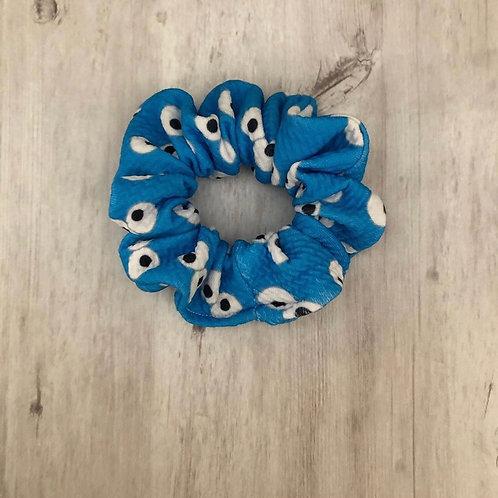 Eye Blue Scrunchie