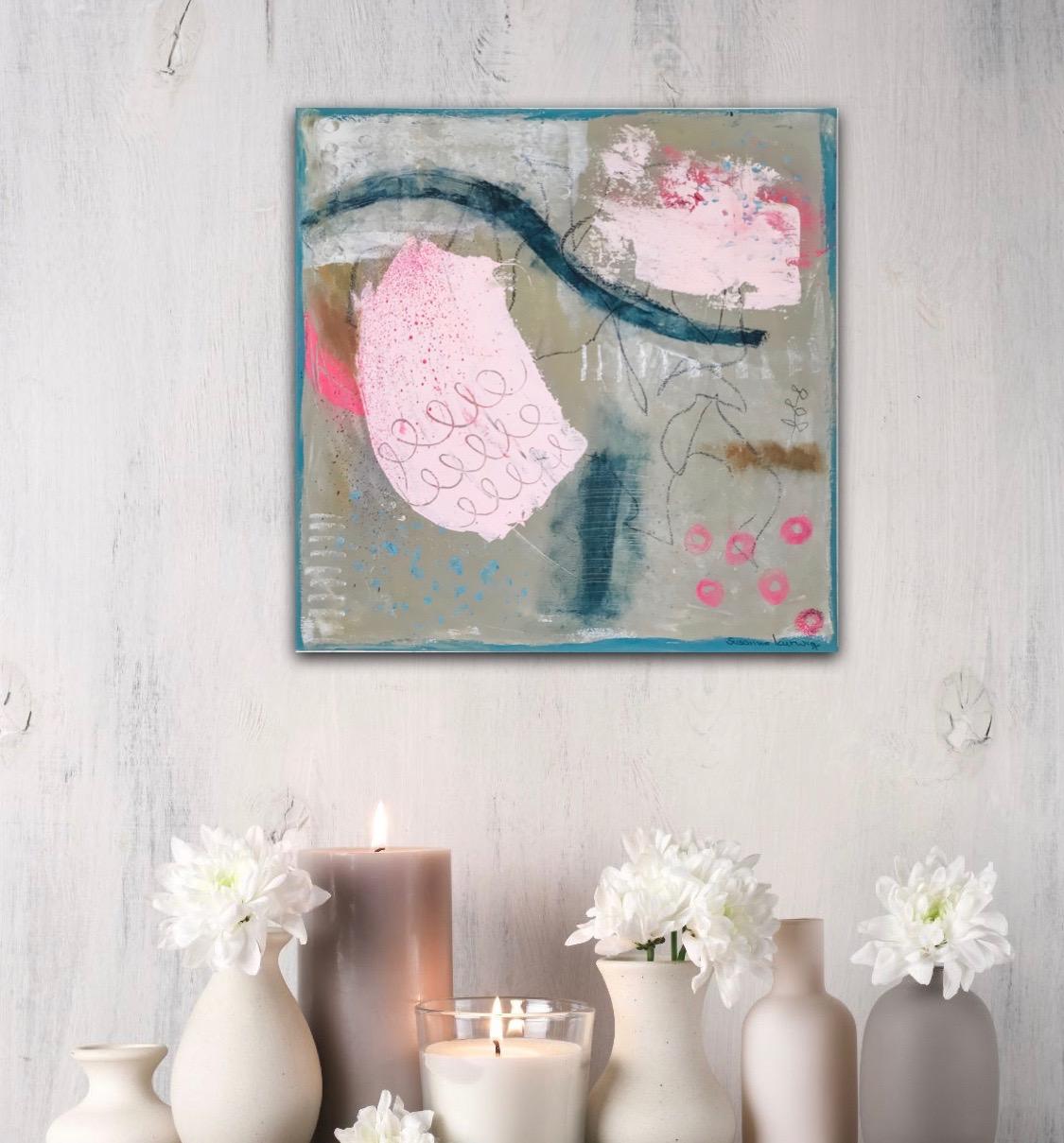 Pink in Bewegung