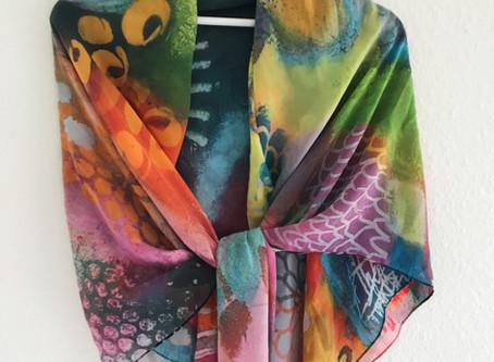 Taschen, Tücher und Tassen im SuseMuse Design
