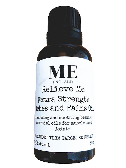 Relieve Me Extra Strength Aches Pains Oil