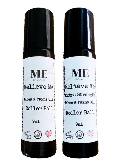 Relieve Me Aches & Pains Oil Roller Ball Duo