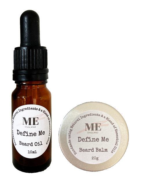 Define Me Beard Oil & Balm Set