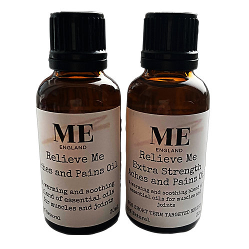 Relieve Me  Aches & Pains Oil Duo