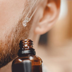 Oil for care and growth of beard, barber