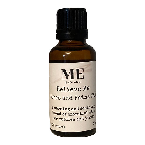 Relieve Me Aches &  Pains Oil 30ml
