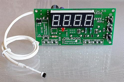DSL8200 терморегулятор с циклическим таймером