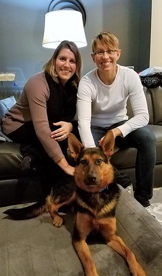 Hank's Adoption Photo