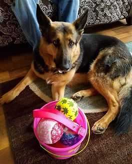 Kiki's first Easter!