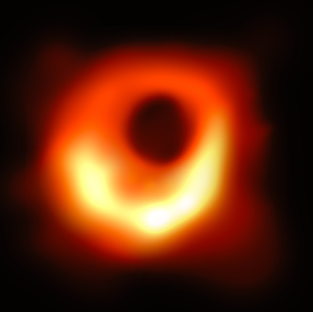 First Image of a Black Hole Ever Taken