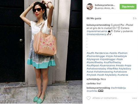 bloguera bolsos y carteras