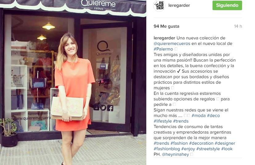 ANgie Bloguera Leregarder