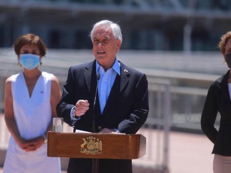 Piñera anuncia reapertura de frontera, mientras OMS alerta rápido avance de Covid19 en Europa