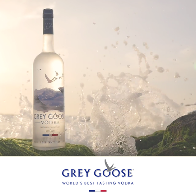 Grey Goose - All the way from france