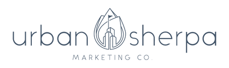 Urban Sherpa Marketing Co. Logo
